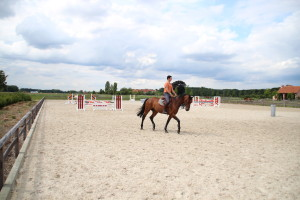 outdoor arenas for Nick Vanturnhout