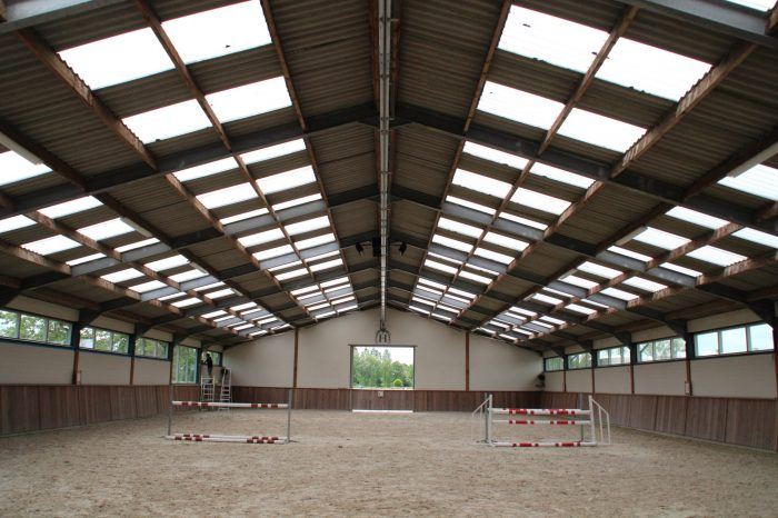 Indoor Hilton Stables